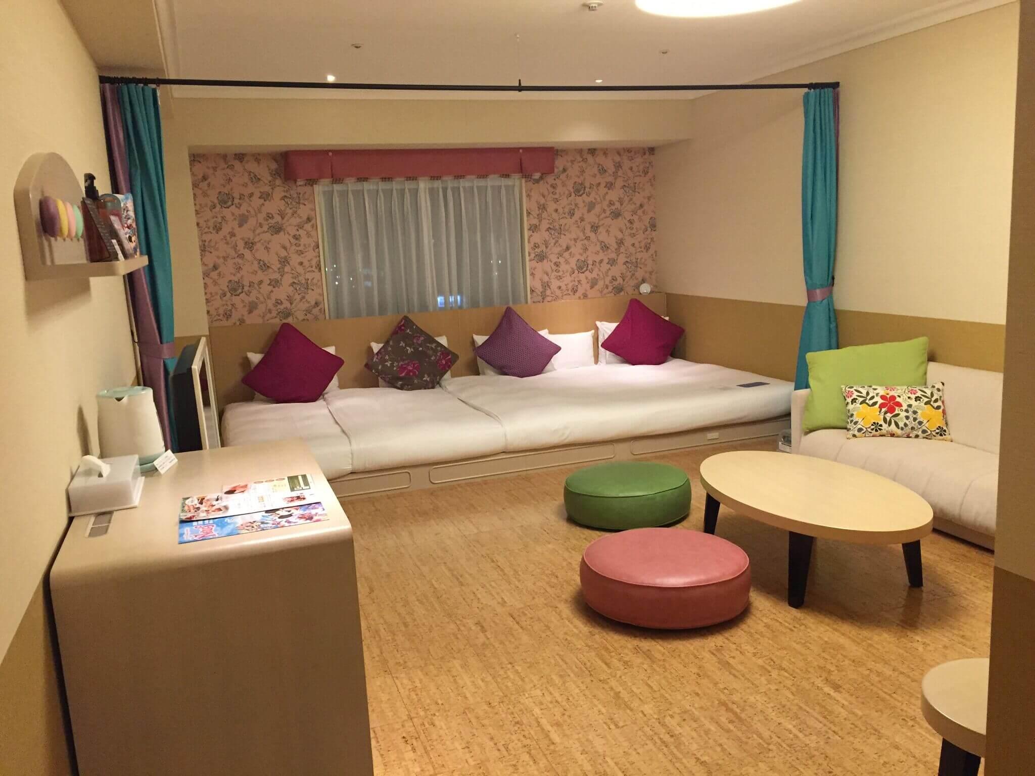 オリエンタルホテル東京の部屋:キディスイート「ミルフィーユ」